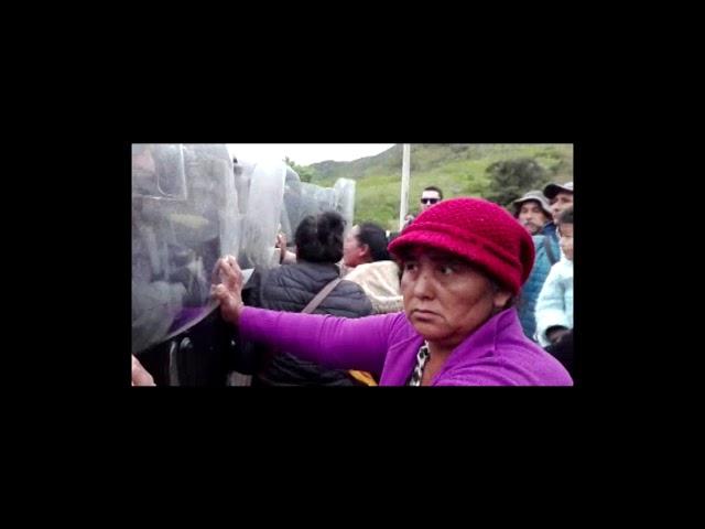 Policía y gobierno boliviano ingresan a la Reserva Tariquía para imponer proyectos hidrocarburíferos