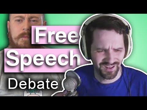 Free Speech & Data Analysis - Debate With Count Dankula & Sinatrasays