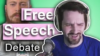 Free Speech & Data Analysis - Debate with Count Dankula & Sinatrasays