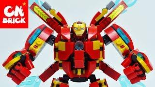 Lego Iron Man Hulkbuster Robot Dlp9080 Un Lego