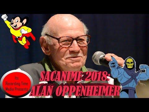 SacAnime 2018: Alan Oppenheimer Friday Panel