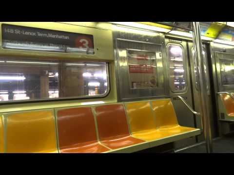 NYC Subway Special: On-Board R62 # 1360 On The (3) From From Clark Street To Flatbush Avenue