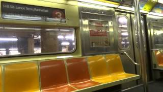 nyc subway special on board r62 1360 on the 3 from from clark street to flatbush avenue