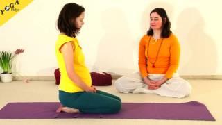 SchwangerenYogastunde mit Katyayani und Chitra