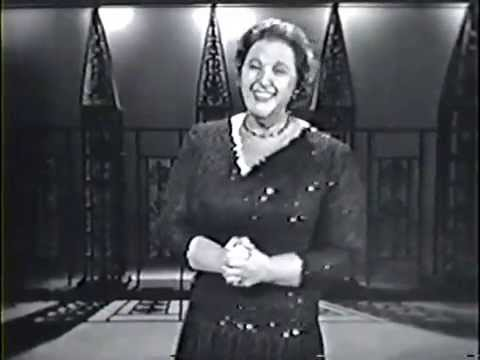 Kate Smith on the Jack Paar Show