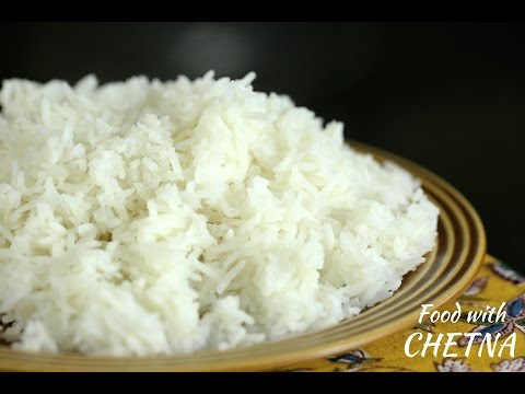 How to make perfect fluffy healthy rice every time - Food with Chetna