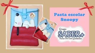 Volta as Aulas – Pasta Snoopy