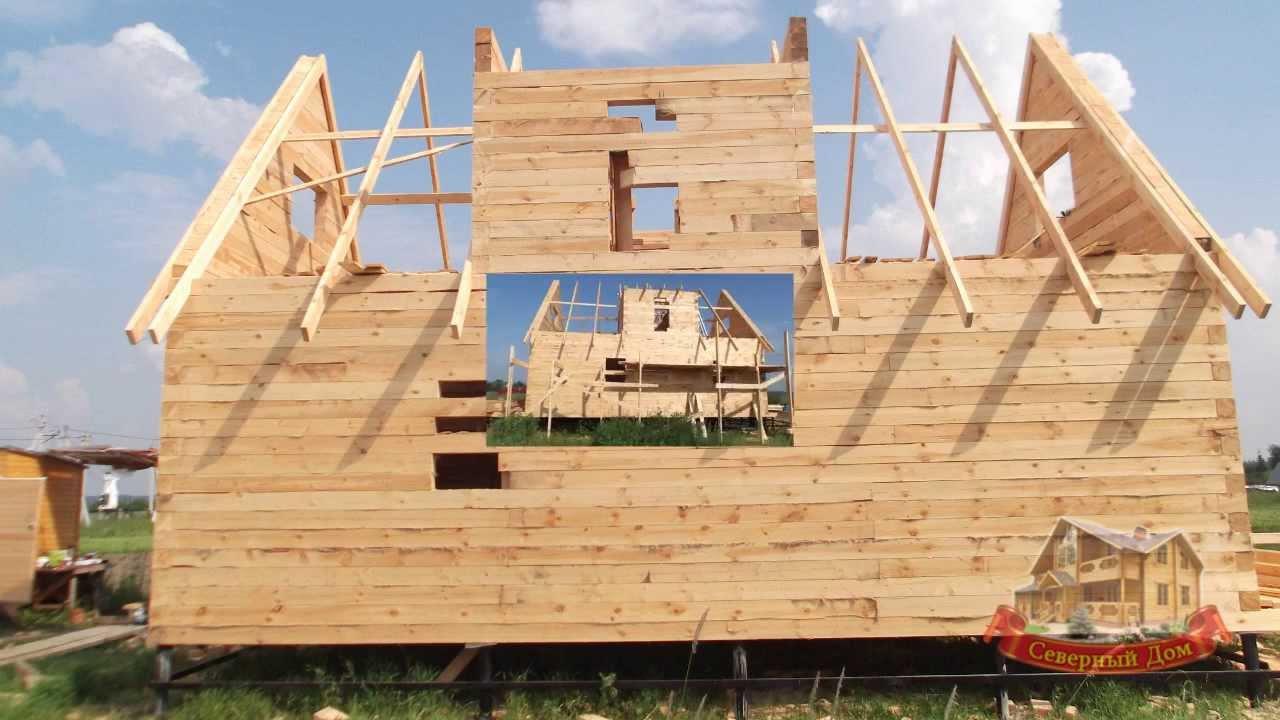 Построить дом из сруба своими руками фото 187
