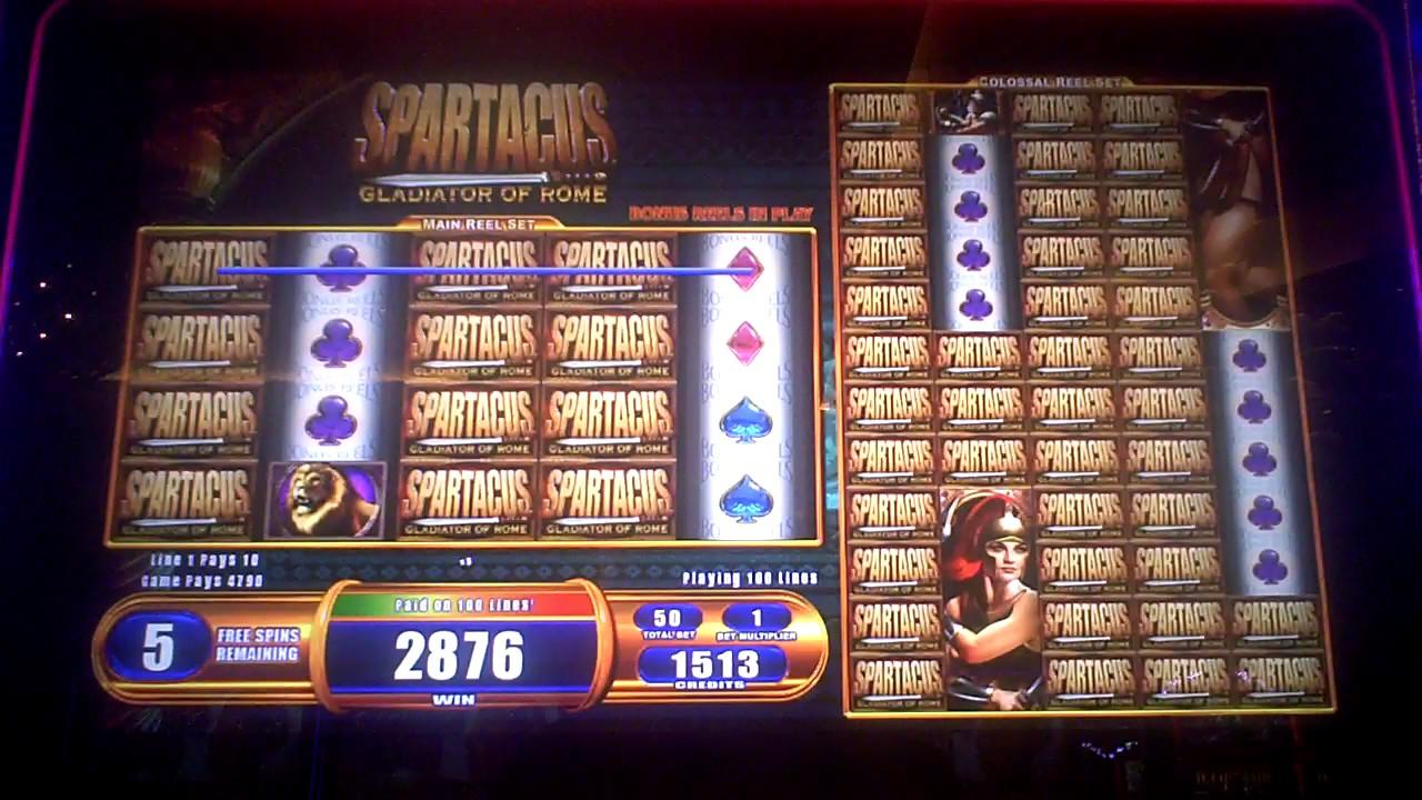 Spartacus slot machine online, free