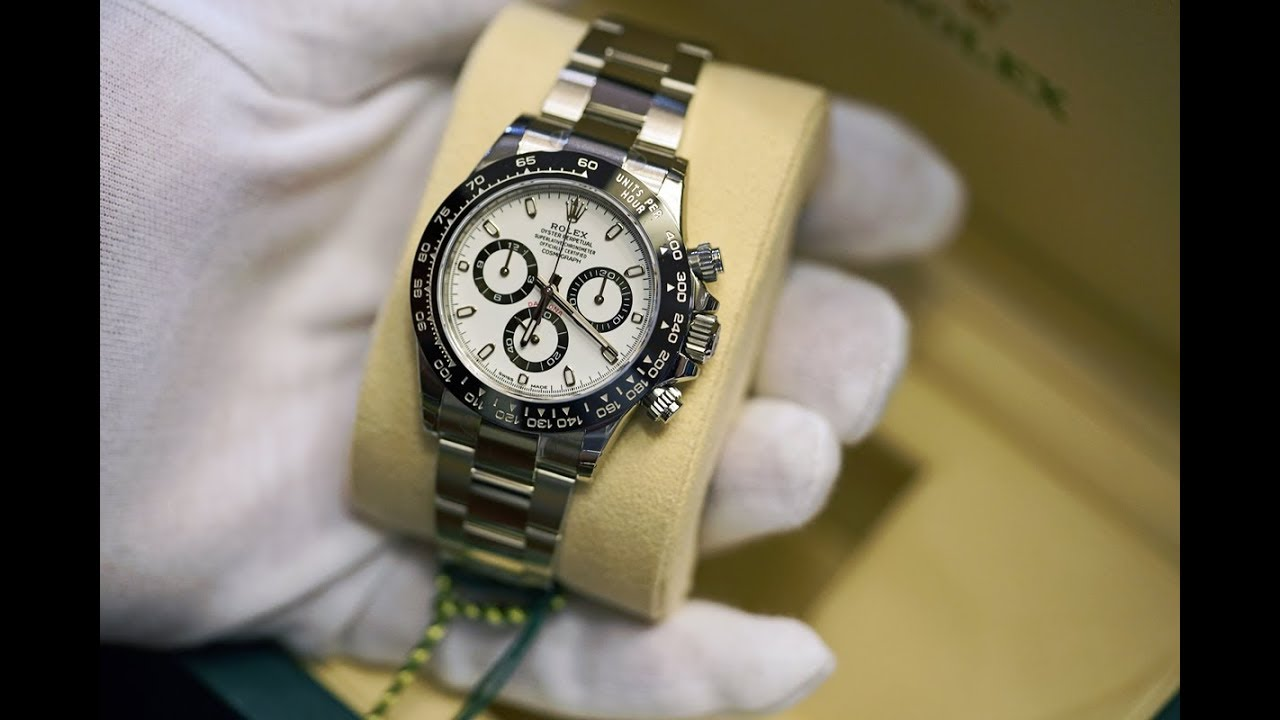 Unboxing Rolex Daytona 116500LN and Comparison to 116520