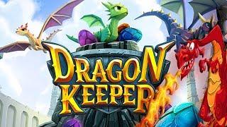 Как приручить ДРАКОНА игра Dragon Keeper Roblox ХРАНИТЕЛЬ ДРАКОНОВ Развлекательное видео для детей