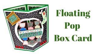 Floating Pop Box Card   Christmas Workshop 2018   Fun Fold Card
