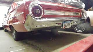 1964 Ford Galaxie 429 Pt.1 Cold start