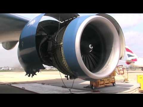 GE90 engine wash