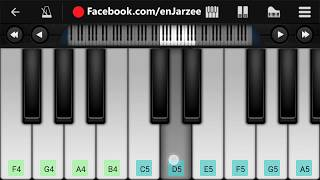 Channa Mereya SLOW VERSION Piano - Easy Mobile Perfect Piano Tutorial