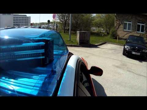 BMW Car-to-X Communication, Emergency Vehicle Warning