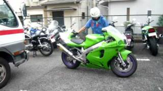 Kawasaki ZX-7RR Run in japan 13-08-2010.MOV