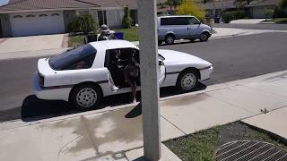 Toyota A70 Supra running and driving again!!