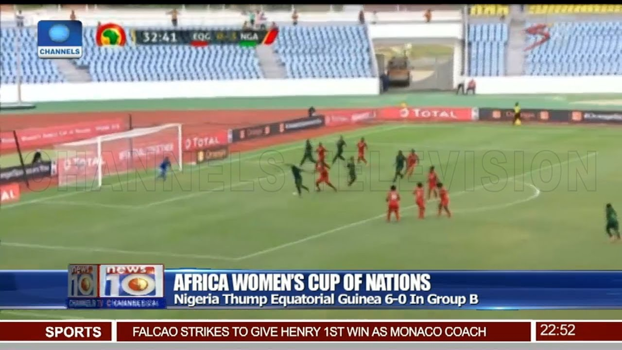 Download AWCON 2018: Nigeria Thump Equatorial Guinea 6-0 In Group B 24/11/18 Pt.4 |News@10|