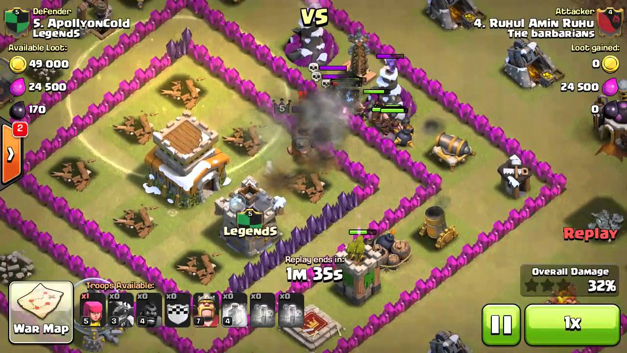 Hog rider attack strategy th8 clash of clan youtube