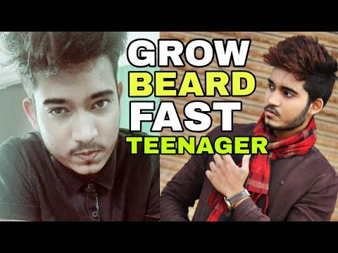 How To Grow Beard For Teenagers | age 17-25 years | How To Grow Beard Fast