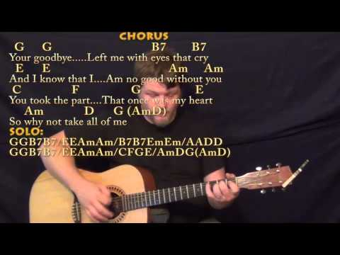 All of Me (Willie Nelson) Strum Guitar Cover Lesson with Chords/Lyrics