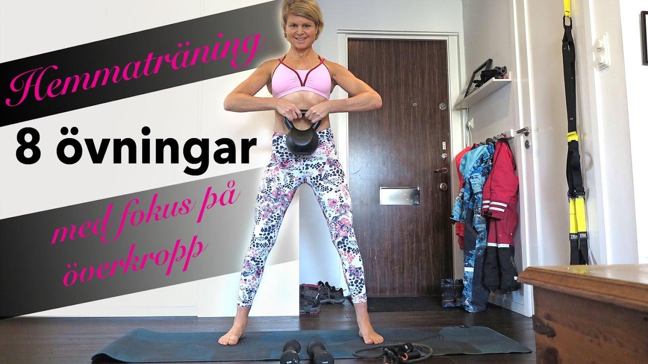 träningsprogram överkropp gym