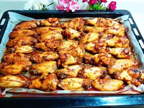 BU TARİFTEN SONRA MANGALDA TAVUK YAPMAYACAKSINIZ😊-Fırında Nefis Tavuk Kanatları