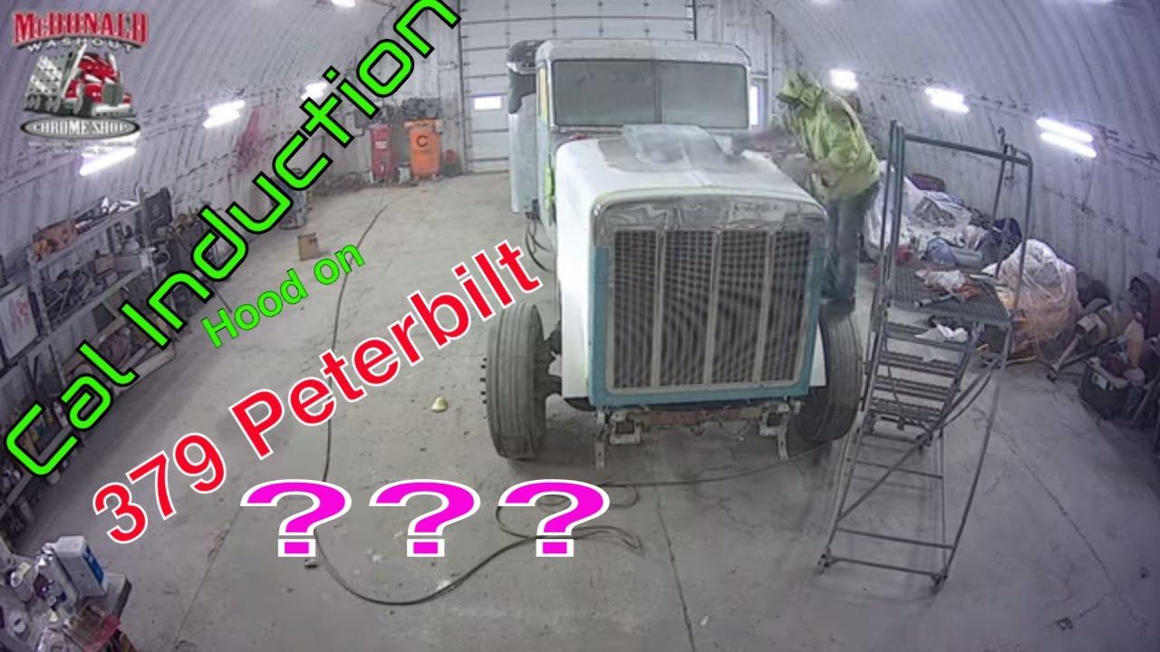 Cowl Induction Hood on a 379 Peterbilt?   Love it or Hate it?   McDonald Chrome Shop