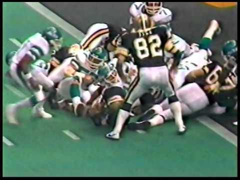 Saints vs Jets 1983 Monday Night 2nd-half