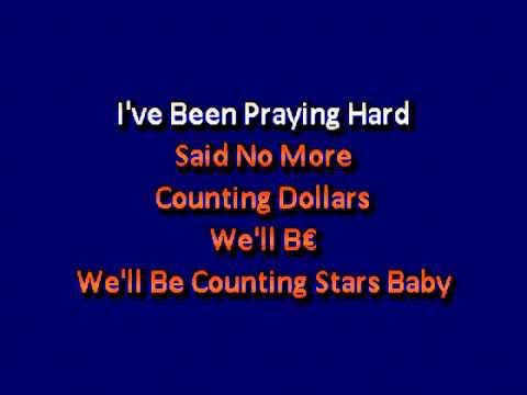 One Republic Counting Stars karaoke