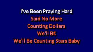 One Republic Counting Stars Karaoke