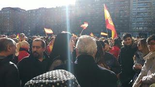 Concentración en Logroño convocada por 'España Existe'