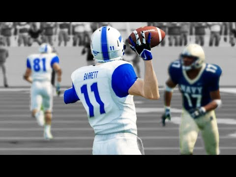 Epic Rivalry Game Vs Undefeated Navy! NCAA 14 Road To Glory #21