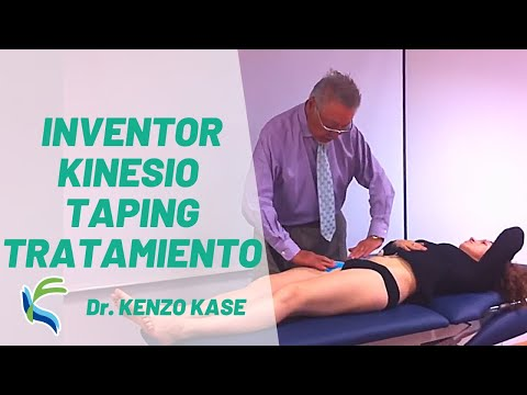 Tratamiento Kinesio Taping Dr.Kenzo Kase Fisiolution Helios.MOV