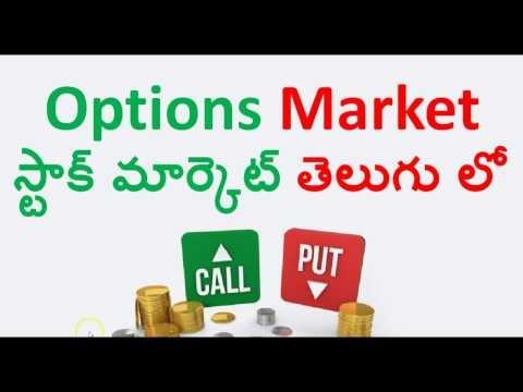 Options markets తెలుగు లో