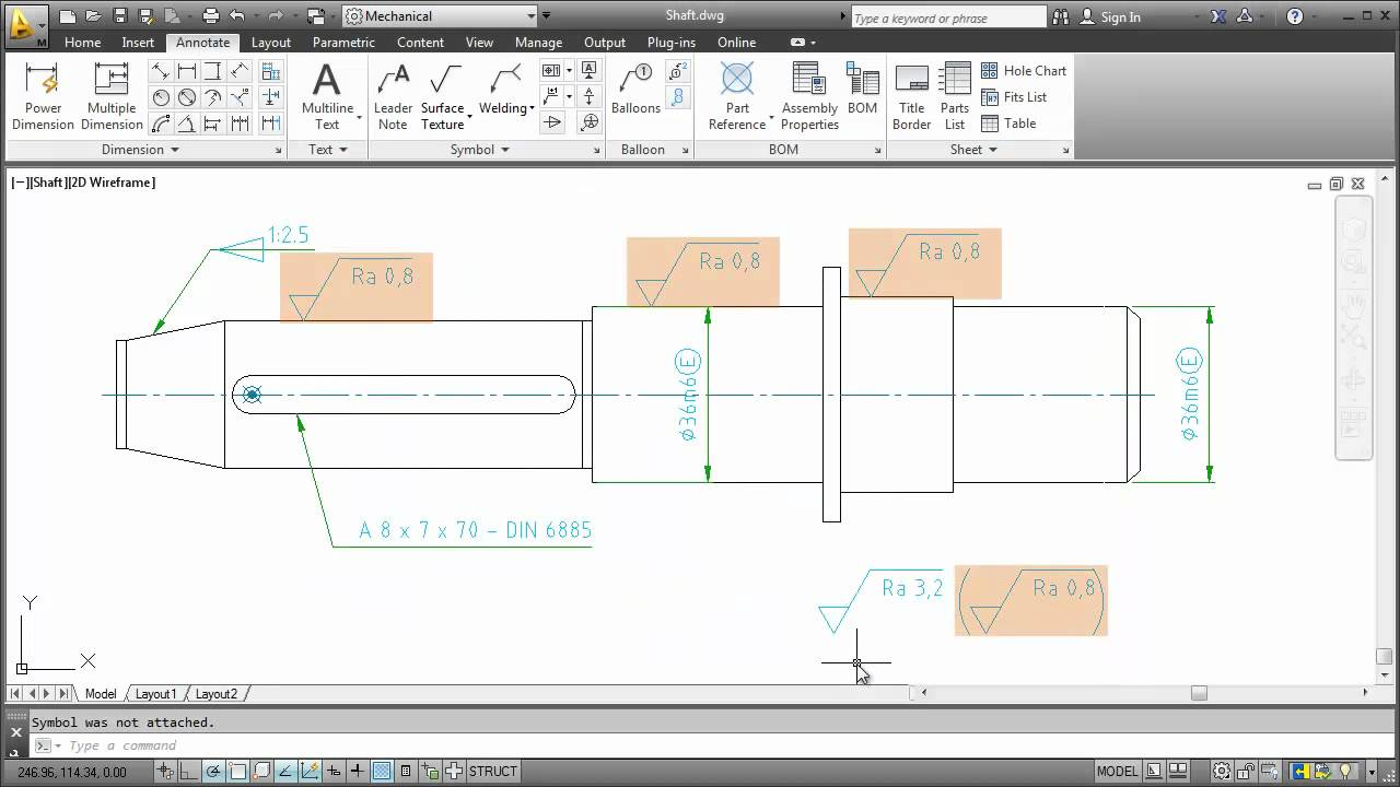 Symbols Autocad Mechanical 2013 Youtube Electrical Schematic