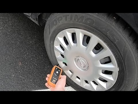 How To Auto Reset Tire Pressure Monitor Sensor TPMS Relearn Activation Tool For GM Series Vehicle