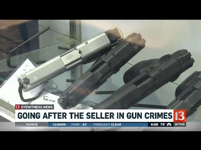 Going after seller in gun crimes