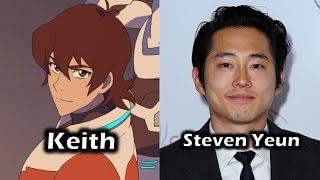 Characters and Voice Actors - Voltron: Legendary Defender (Season 1)