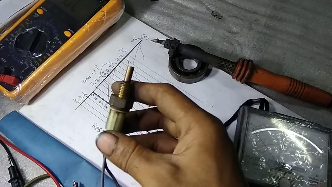 Sensor EOT bisa diakali dengan resistoer /restan - YouTube