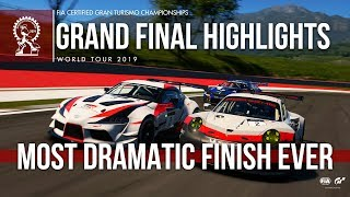 Big Final Lap Drama - GT Sport Manufacturer Series Highlights: Tokyo