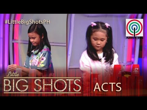 Little Big Shots Philippines: Speed Stacking Duo   Speed Stacker Duo