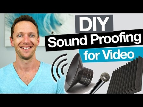 DIY Sound Proofing: Remove Echo and Increase Audio Quality in Videos!