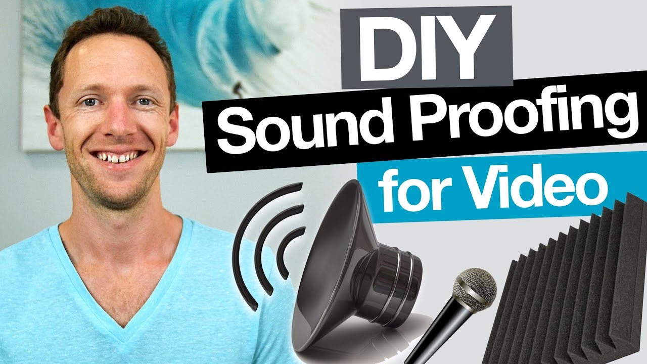 Diy Sound Proofing Remove Echo And Increase Audio Quality In Videos It S Not Quite A Box For Dummies