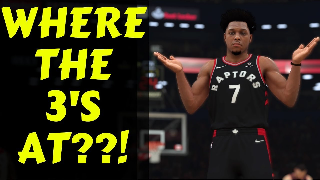 NBA 2K19 Gameplay Sliders #12 : Tendency Settings Fix Shot Distribution!!  CPU Tendencies Tutorial!