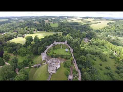 Arundel Castle, West Sussex, England (www. sussex-drones.co.uk)