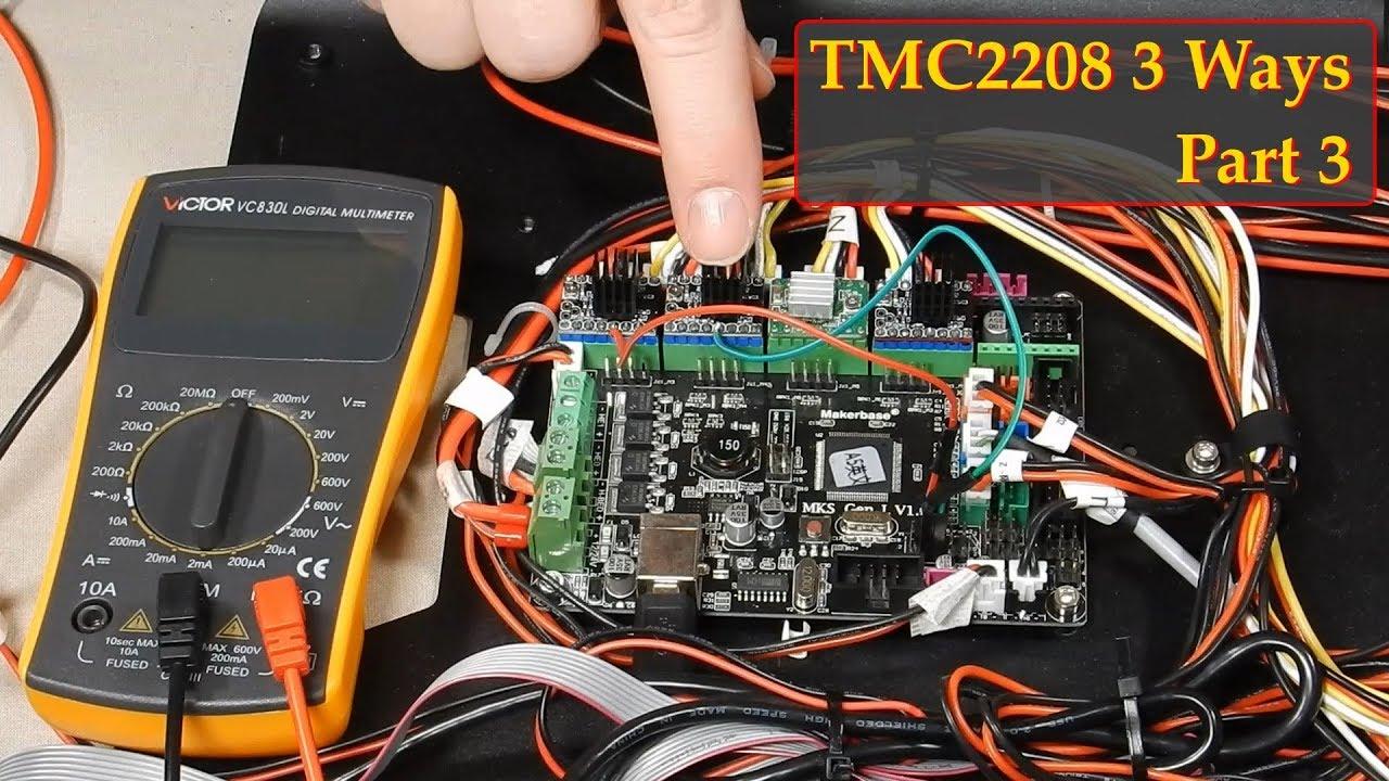 TMC2208 3 Ways - Part 3