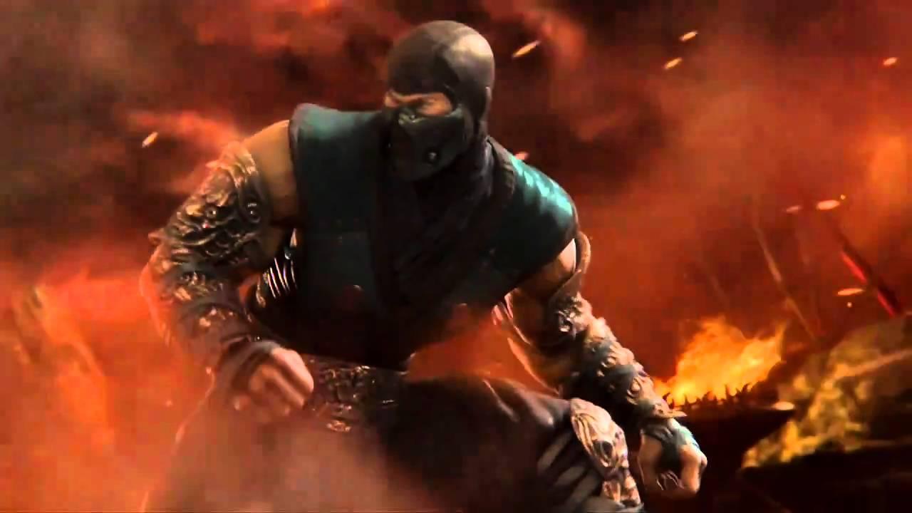 Mortal Kombat 9 Scorpion Vs Sub Zero Vs Kratos Version
