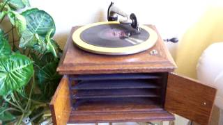 "Victrola 78 RPM Frankie Lawver ""Why Don"